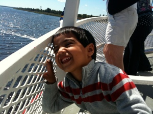 On a Riverboat in Wilmington